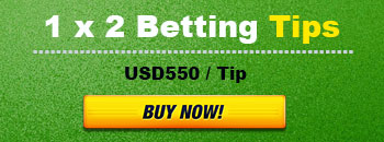 Buy now 1x2 betting tips for $550 per tips